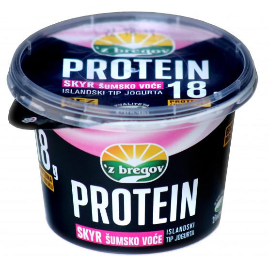 Протеин скир шумско овошје 200г чаша Збрегов