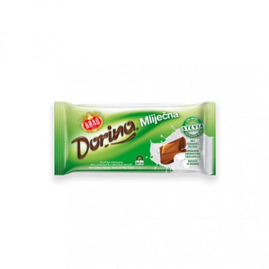 Млечна чоколада без шеќер Дорина 80г