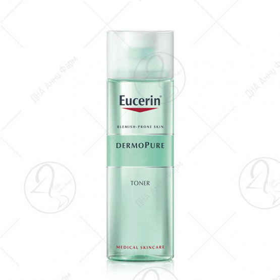 Eucerin DermoPURE Тоник за масна кожа склона кон акни 200ml