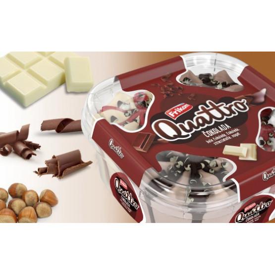 Фриком сладолед Кватро чоколадо 1650мл