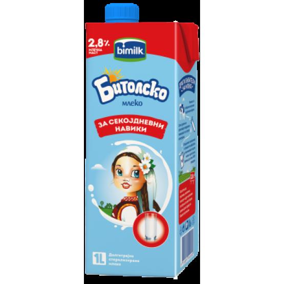 Битолско млеко 2.8% 1л