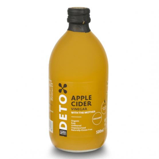Детокс Органски оцет од јаболко со ѓумбир 500мл