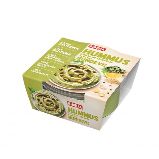 Рибела хумус намаз со семки од тиква 200г
