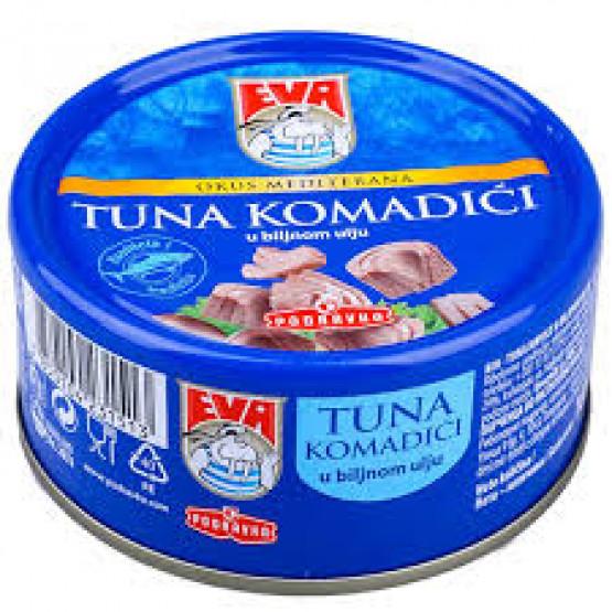 Туна Ева на сецкана 160г