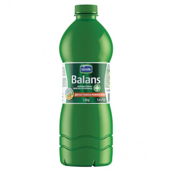 Битолски Баланс јогурт 1.0% шише 1.5л