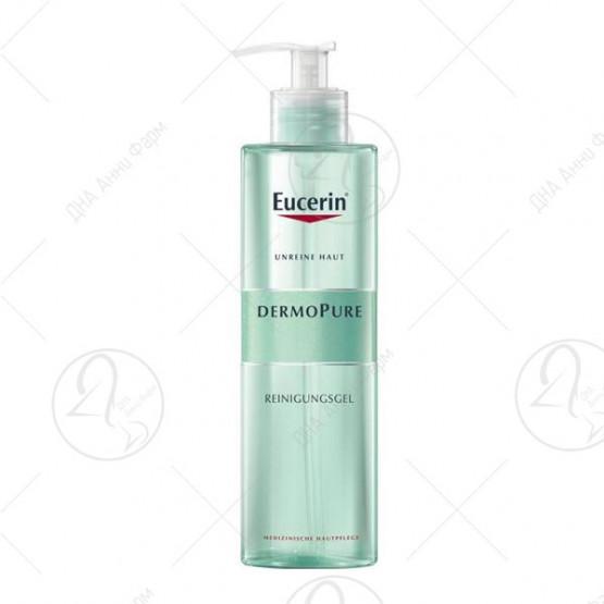 Eucerin DermoPURE Измивачки гел за масна кожа 400ml