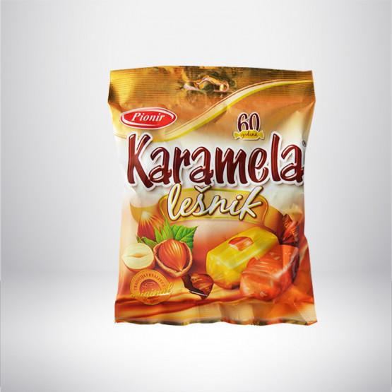 Карамела Лешник Пионир 100г