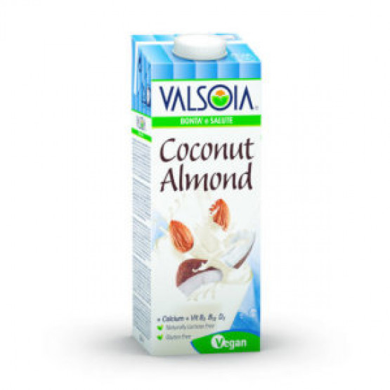 Напиток од Кокос и Бадем Валсoиа 1л