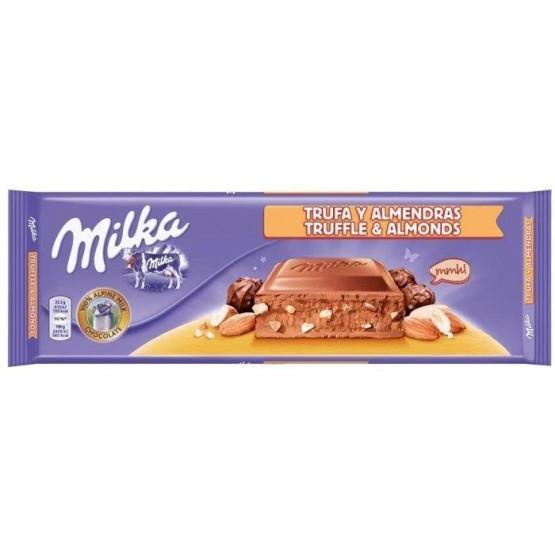 Милка чоколадо Алмонд Труфле 300г