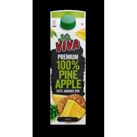 Вива сок ананас 1л