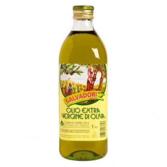 Маслиново масло Салвадори Екстра Вирџин 1л