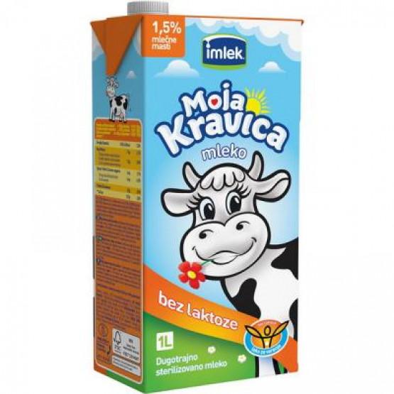 Млеко без лактоза Моја кравица 1л