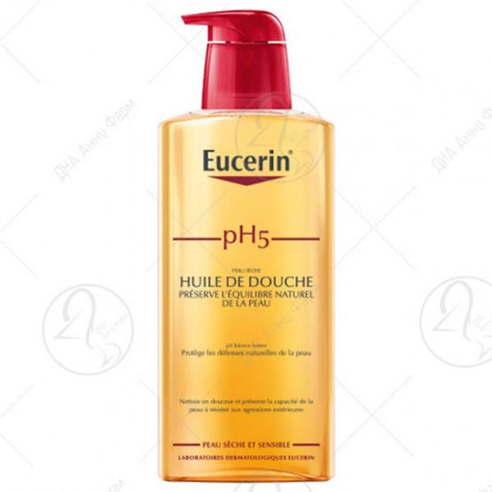 Eucerin pH5 Масло за туширање 400ml
