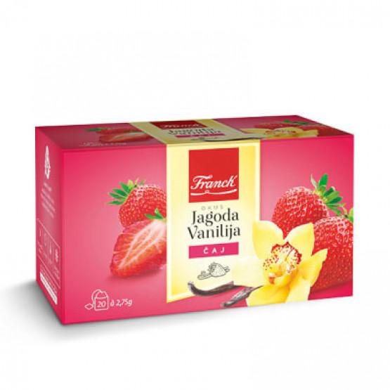 Чај од Јагода со Ванила 50г Подравка