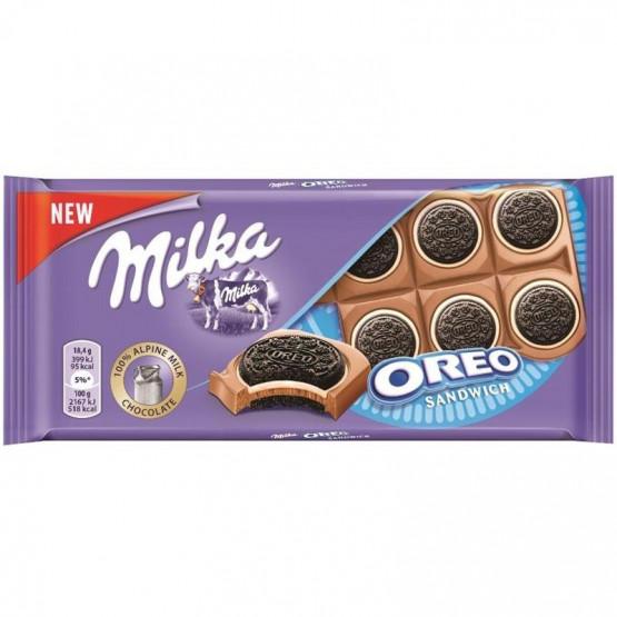 Чоколадо Милка орео сендвич 92г