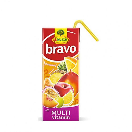 Сок Браво мултивитамин 200мл