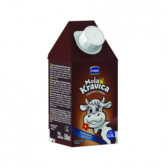 Чоколадно млеко моја кравица 500мл