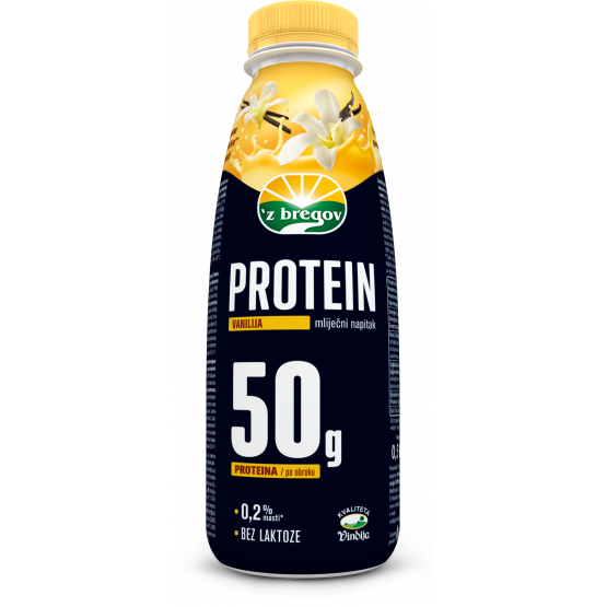 Протеински напиток ванила 500мл Збрегов