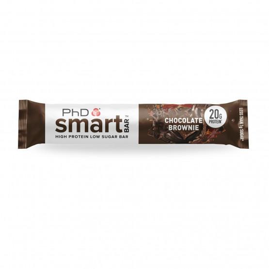 ПхД Смарт бар чоколаден брауни 64г