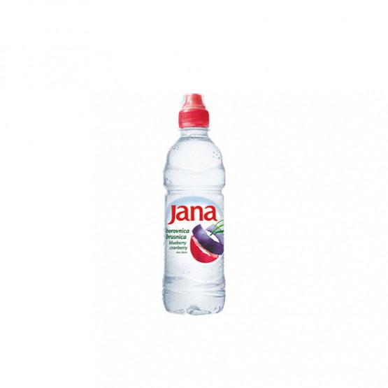 Јана Ароматизирана вода со вкус на боровница брусница 500мл