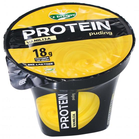 Протеински пудинг со ванила 180г