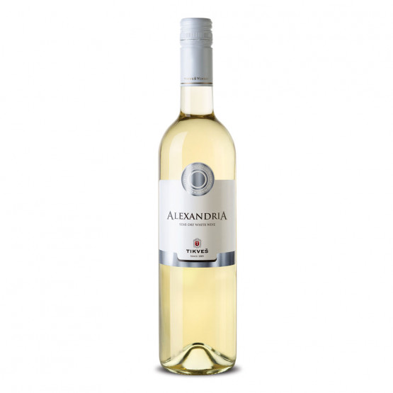 Вино Александрија класик бело 750мл Тиквеш