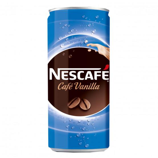 Нескафе напиток со вкус на ванила лименка 250мл
