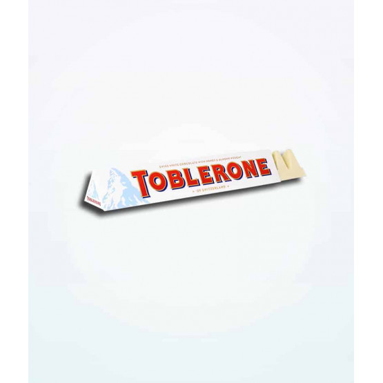 Тоблероне со бело чоколадо 100г