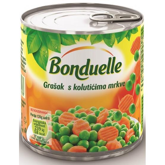 Бондуеле грашок морков  425мл