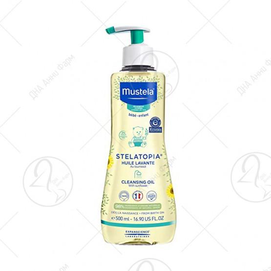 Mustela - Stelatopia ® масло за капење 500 ml