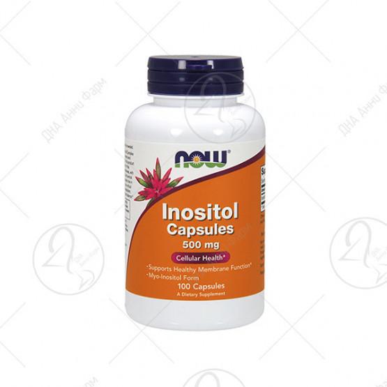Inositol 500 mg / 100 капсули