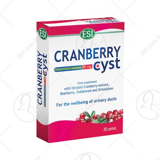 Cranberrycyst