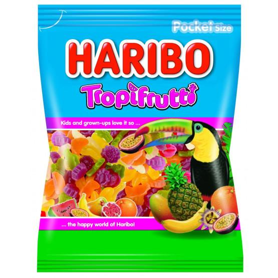 Харибо гумени бонбони тропифрути 100г