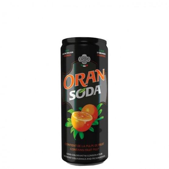 Оранж Сода 330мл лименка