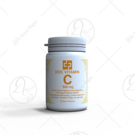 Doc Vitamin C 500 mg