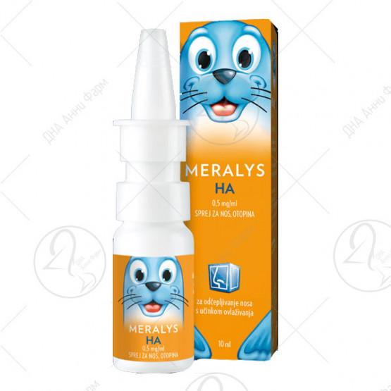 Мералис НА 0,5 мг/мл спреј за нос
