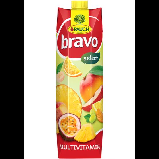 Сок Браво мултивитамин 1л