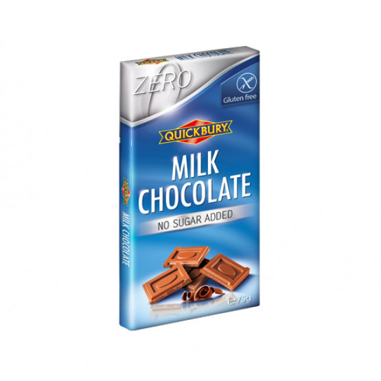 Млечна чоколада без шеќер и без глутен Квикбери 75г
