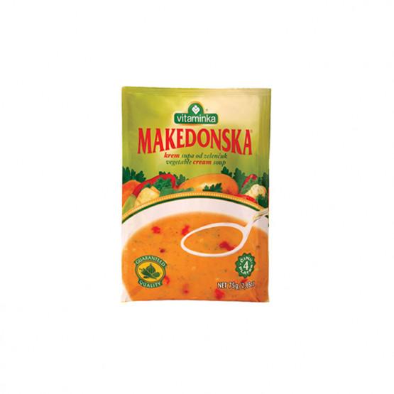 Витаминка крем супа македонска од зеленчук 75г