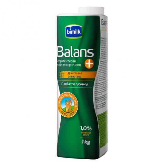 Битолски Баланс јогурт 1.0% 1л