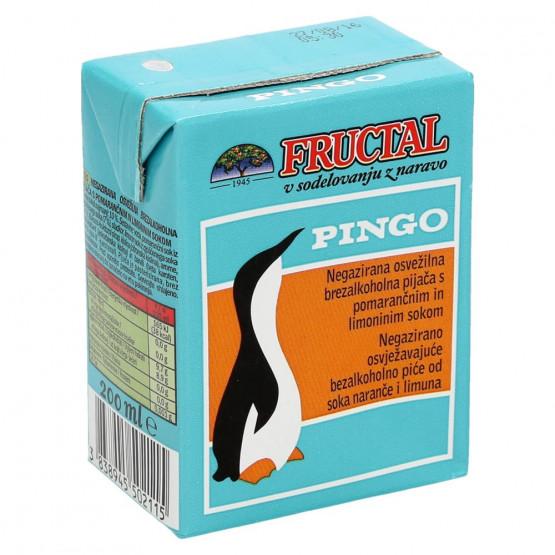 Фруктал сок пинго 200мл