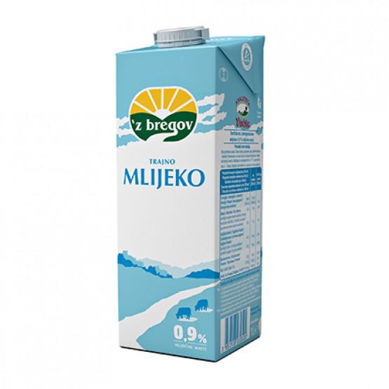 Млеко 0.9% лајт 1л Збрегов