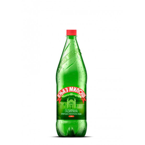 Књаз Милош вода газирана 1.25л