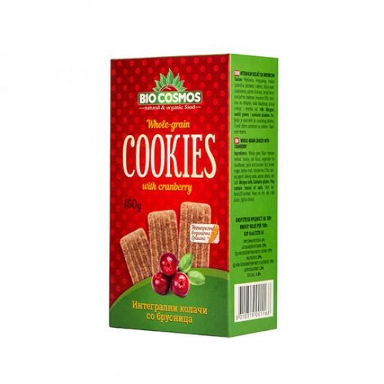 Кукис Интегрални колачи со Брусница 150г Биокосмос