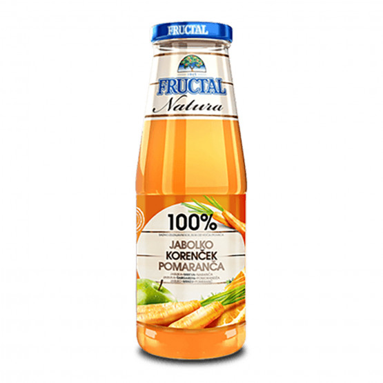 Фруктал Натура сок морков 700мл