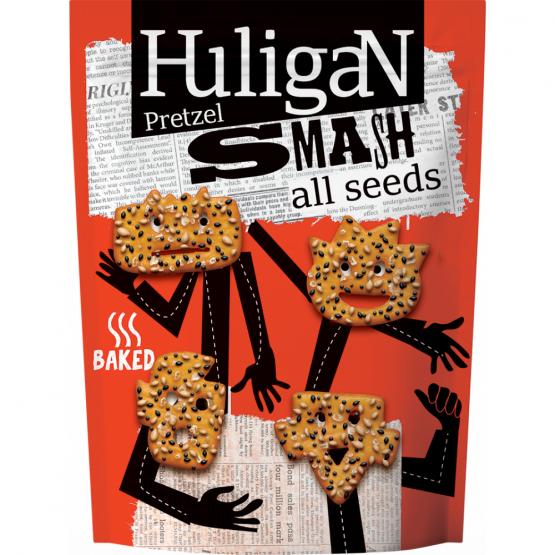 Претзел мешани семиња Хулиган смеш 70г
