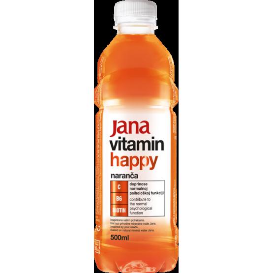 Јана витамин портокал 500мл