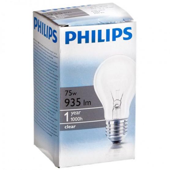 Сијалица Филипс стандард 75w