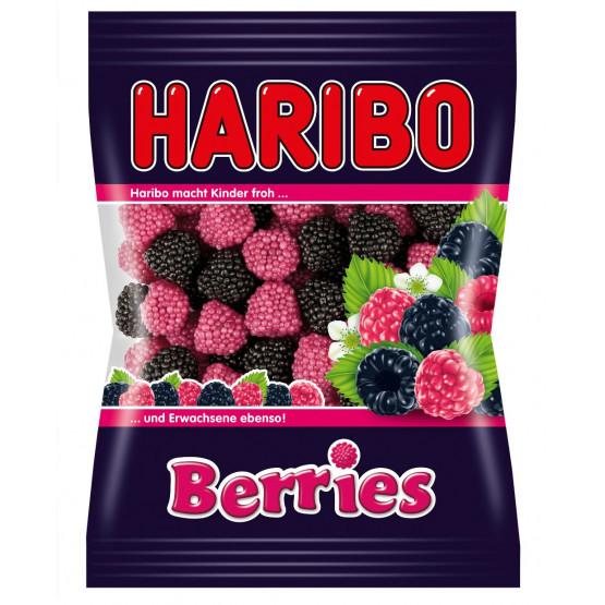 Харибо гумени бонбони малина и капина 100г