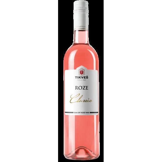Вино Александрија класик розе 750мл Тиквеш